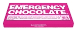 Bloomsberry Emergency Chocolate Bar 3.5 Ounce Milk Chocolate Bars, (Pack of 10)
