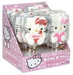 Hello Kitty Marshmallow Lollipops, (Pack of 12)