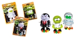 Halloween Monster Poopers, (Pack of 9)
