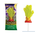 Zombie Hand Gummy Lollipop, (Pack of 24)