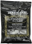 Jakemans Anise Throat Lozenges 30 Piece Bags, (Pack of 12)
