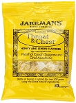 Jakemans Honey Lemon Throat Lozenges 30 Piece Bags, (Pack of 12)