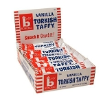 Bonomo Vanilla Taffy, (Pack of 24)