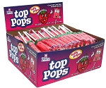 Top Pops Strawberry Chewy Taffy Candy, (Pack of 48)