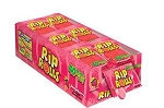 Sour Rip Rolls Strawberry, (Pack of 24)