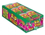 Sour Rip Rolls Watermelon, (Pack of 24)
