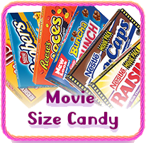 Movie Size Candy