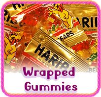 Wrapped Gummy Candy