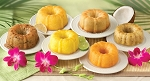 Dockside Market Tropical Mini Sampler Bundt Cakes (Pack of 6)