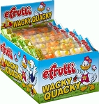 E-Frutti Wacky Quacky Gummy Candy, (Pack of 80)