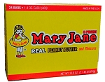Necco Mary Jane Candy Bars, (Pack of 24)