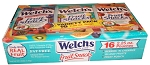 Welch's Fruit Snacks Variety Pack Light Blue, (Pack of 16)