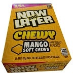 Now and Later Chewy Mango Candy, (Pack of 24)