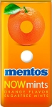 Mentos Orange Mint Breath Mints, (Pack of 12)