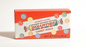 Smarties Candy Movie Size Box, (Pack of 12)