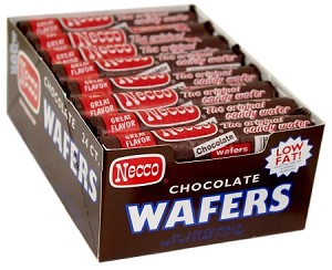 Necco Chocolate Wafers, (Pack of 24)