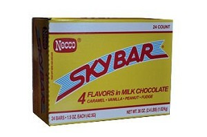 Necco Sky Bar, (Pack of 24)