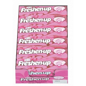 Freshen Up Bubble Gum (Pack of 12)