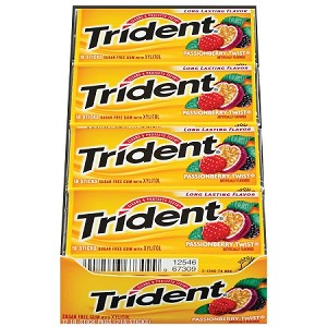 Trident Passionberry Twist Gum (Pack of 12)