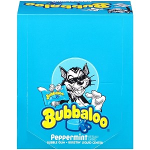 Bubbaloo Peppermint, (60 Piece Pack)
