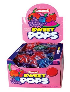 Assorted Sweet Pop Lollipops, (Pack of 100)