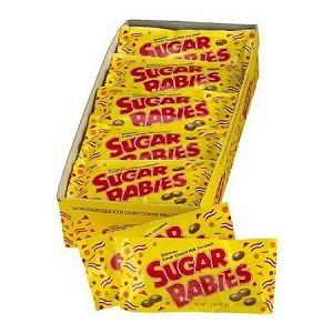 Sugar Babies Candy, (Pack of 24)