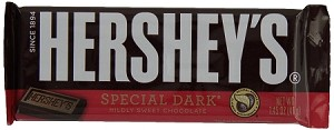 Hershey Special Dark Chocolate Bars, (Pack of 36)