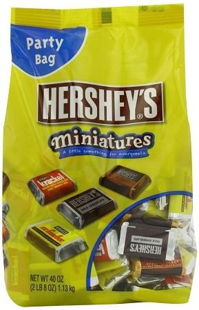 Hershey Assorted Miniatures, 40 Ounces