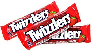 Twizzlers Strawberry Twists, (Pack of 36)