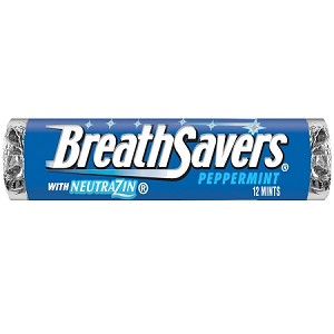 Breath Savers Peppermint Mints, (Pack of 24)