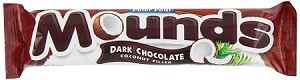 Mounds Chocolate Bar, (Pack of 36)