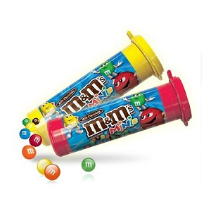 M and M Minis Candy, (Pack of 24)