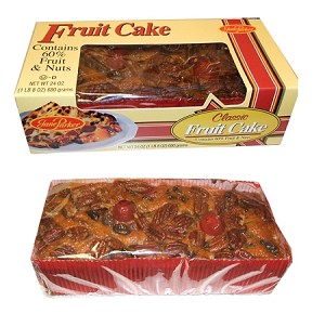 Jane Parker Light Fruit Cake, 24 Ounces