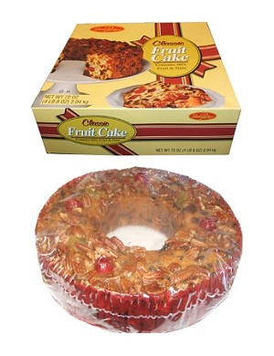 Jane Parker Light Fruit Cake, 72 Ounces