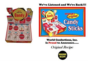 Candy Cigarettes, (Pack of 24)