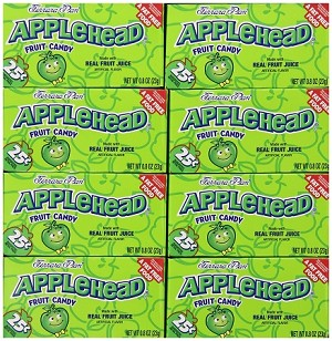 Ferrara Pan Appleheads Candy, (Pack of 24)