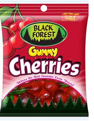 Gummy Cherries, 4.5 Oz (12 Pack)