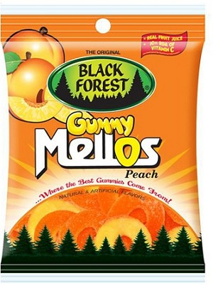 Black Forest Mellos Peach, 4.5 Oz (12 Pack)