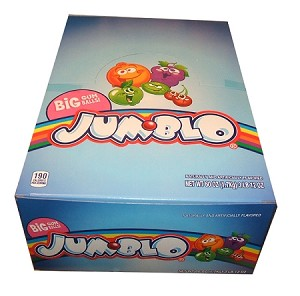 Rainblo Jumblo Gumballs, (Pack of 24)