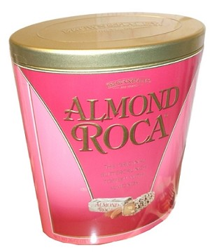Almond Roca Original Buttercrunch Toffee With Almonds, 26 Ounces