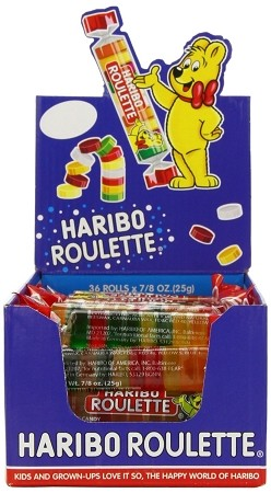 Haribo Roulette Wheels, (Pack of 36)