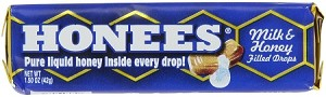 Honees, Milk and Honey Filled Drops (Pack of 24)