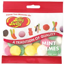 Jelly Belly Mint Cremes, (Pack of 12)