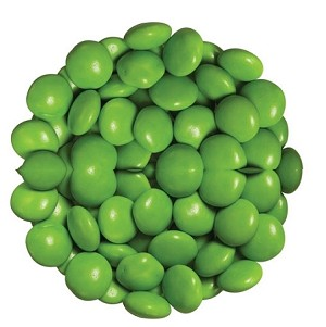 Light Green Chocolate Color Drops, 15 Pounds