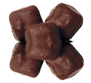 Asher's Sugar Free Milk Chocolate Covered Vanilla Caramel, 6 Pounds