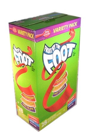 Fruit by The Foot, (Pack of 28)