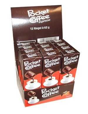 Ferrero Pocket Coffee Espresso Candy, (Pack of 60)