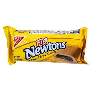 Fig Newton Single Serve Cookies, (Pack of 12)
