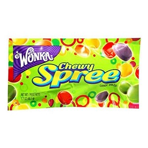 Wonka Chewy Spree, (Pack of 24)