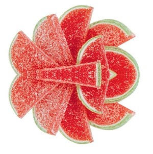 Watermelon Fruit Slices, 5 Pounds
